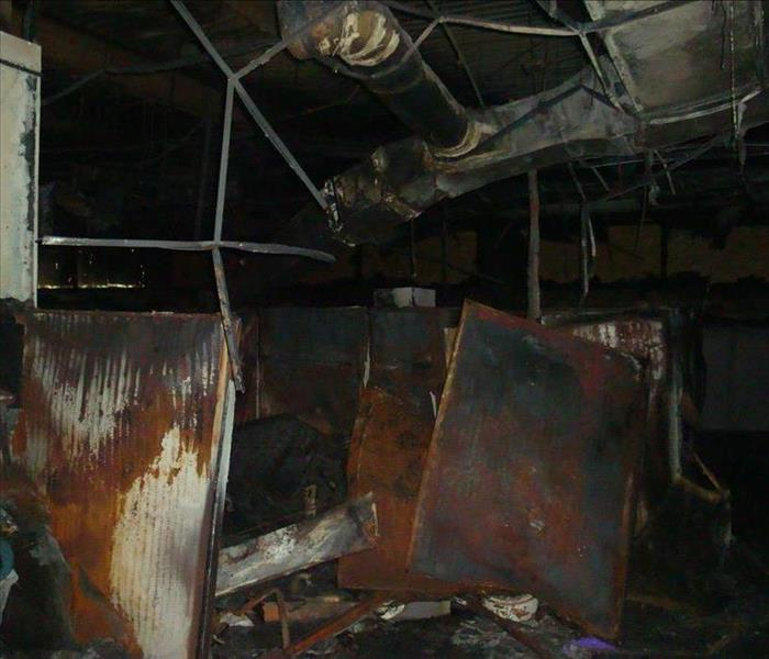 Commercial Fire Damage