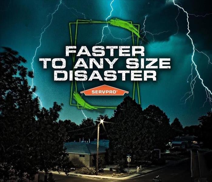 Faster to any size disaster